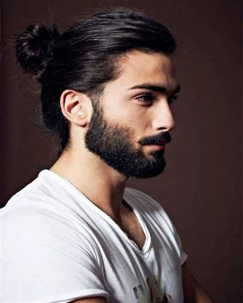 Ponytail Hairstyles For Guys | 15 men ponytail hairstyles mens hairstyles 2018