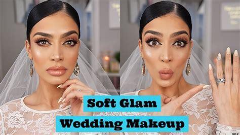 Bridal Wedding Makeup Tutorial   ABH Soft Glam Palette