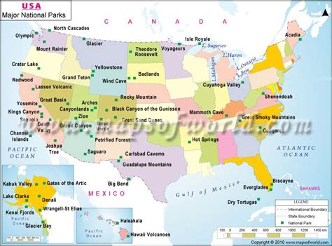 national parks usa map national parks park buckets and vacation