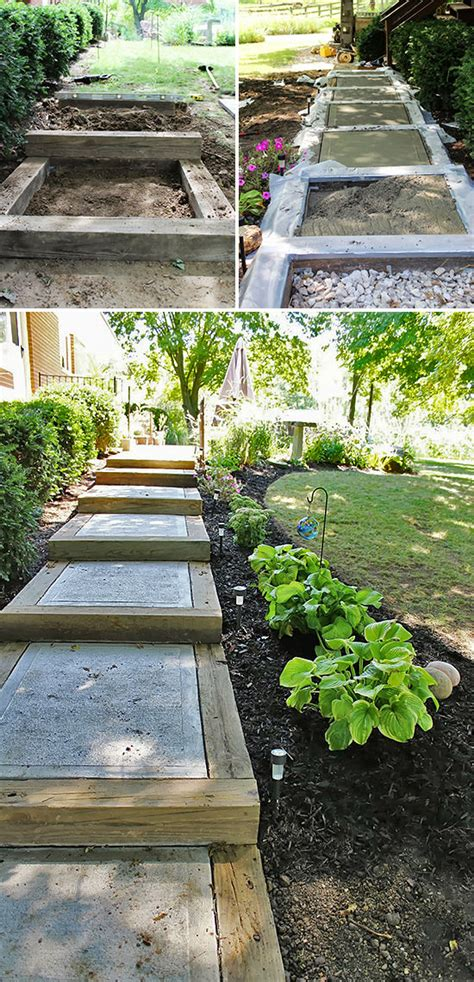 landscaping stairs step by step diy garden steps and stairs the garden glove