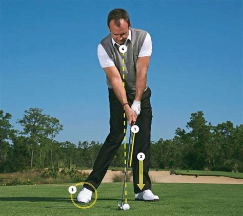 best golf swing for bad back rick smith start your swing at impact golf digest
