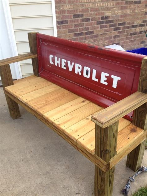 bench made from truck tailgate tailgate bench tailgate bench with 1967 tailgate my
