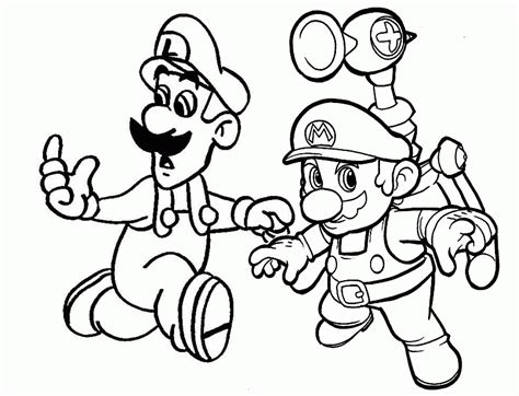 mario sunshine coloring pages super mario color pages many interesting cliparts