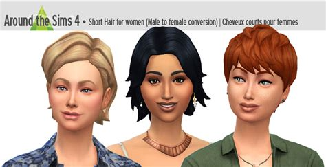 sims 4 short hair sims 4 hairs around the sims 4 short hairstyle