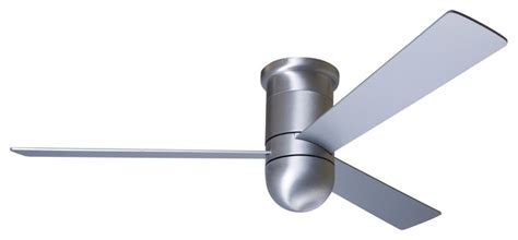 wall hugger ceiling fans modern fan company cirrus hugger brushed aluminum 36