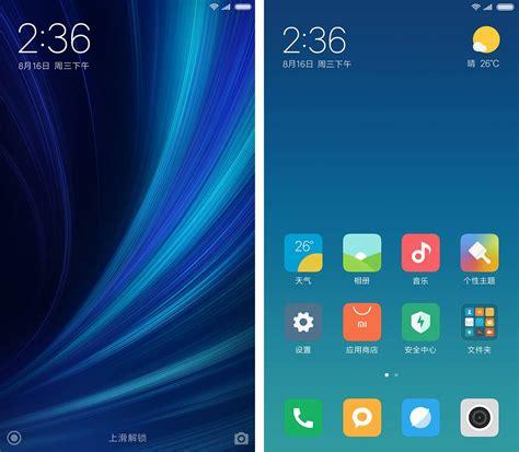 miui themes show in chinese xiaomi previews miui 9 split screen mode new lock screen
