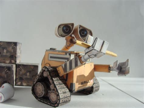 Wall E Papercraft - wall e paper model by maximrozhkov on deviantart