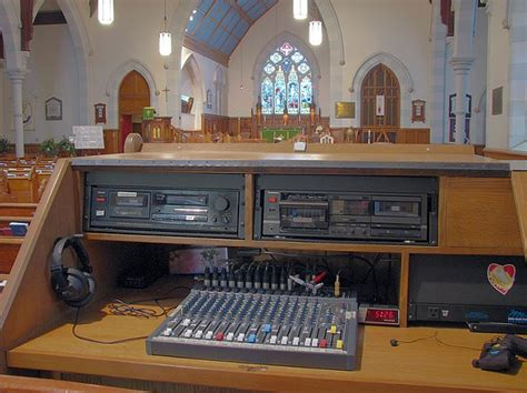Church Sound Desk by Church Sound System And Church Acoustics Consultant
