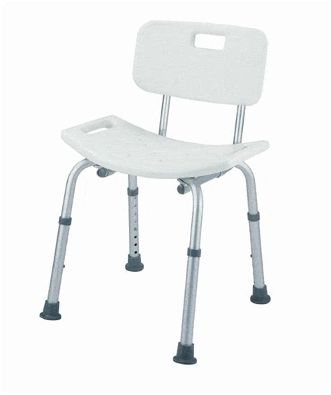 Used Shower Chair bath seat shower chair with backrest tool free assembly