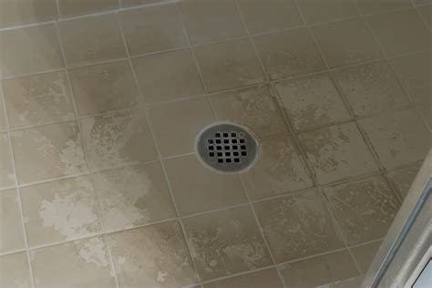 Soap Scum On Shower Floor by Soap Scum On The Floor Of Shower After Many Months Of