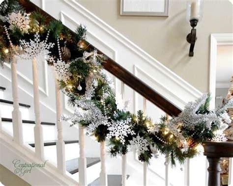 weihnachtsdeko basteln mit festlichen tannen girlanden