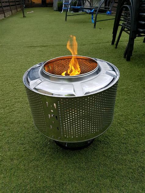 Uses For Stainless Steel Washing Machine Drums Recycling Washing Machine Firepit