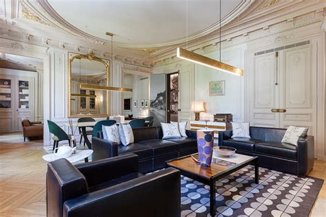 luxury apartment a parisian style contemporary modern luxury apartment interior design by mathieu fiol