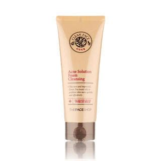 The Shop Clean Acne Solution Foaming Cleanser 150ml refan the way of review the shop clean acne solution foam cleansing