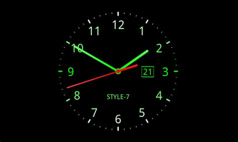 analog clock  wallpaper  apps  android