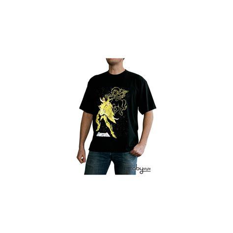 T Shirt Seiya seiya tshirt aiolos sagittaire homme mc black