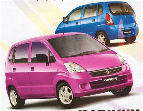 Spion Mobil Estilo mobil suzuki karimun estilo disukai anak orang kaya