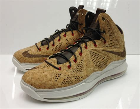 cork basketball shoes nike lebron x quot cork quot classic brown