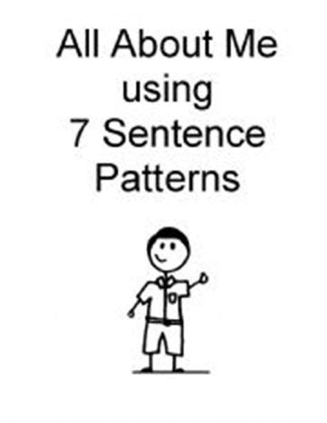 sentence patterns discussion english teaching worksheets about a boy