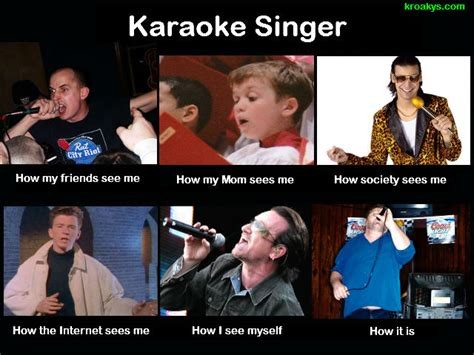 Funny Karaoke Meme - image 251790 what people think i do what i really