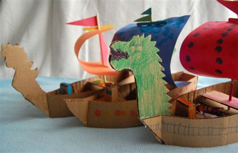 How To Make A Pirate Ship From Paper - creative ideas for you how to make a cardboard pirate ship