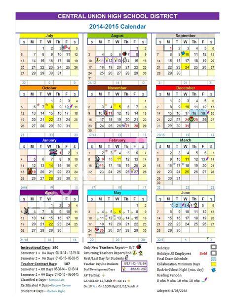 calendars for to make in school school calendar 2014 2015 calendar detail