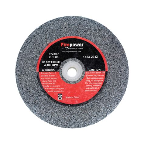 bench grinder wheels bench grinding wheel 6 x 3 4 80g