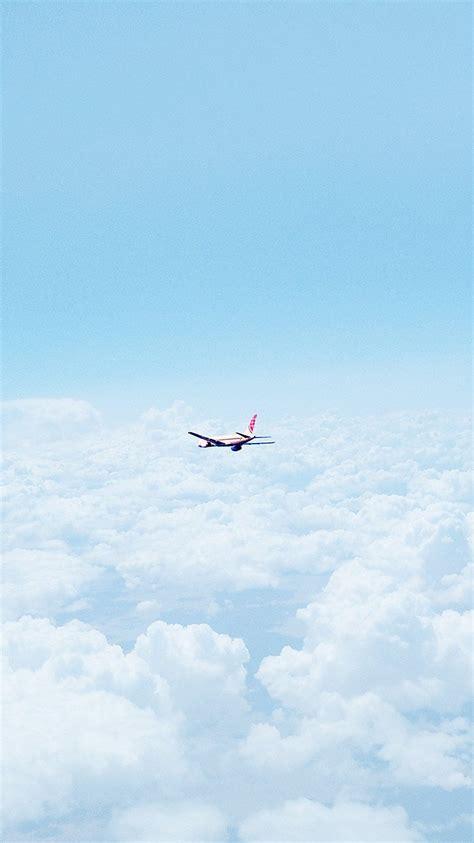 wallpaper iphone airplane nature