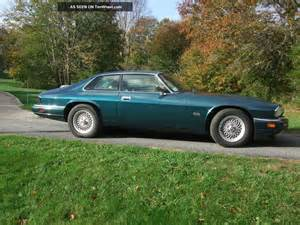 1994 Jaguar Xjs Coupe 1994 Jaguar Xjs Coupe Finished In Brooklands Green In