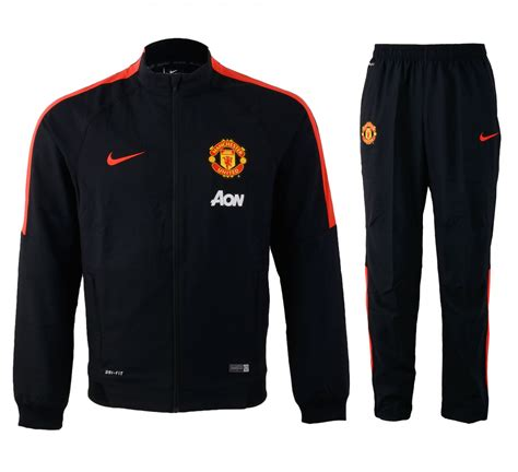 Sale Hoodie Zipper New Manchester United Sideline nike manchester united squad sideline woven warm up suit tracksuits clubs
