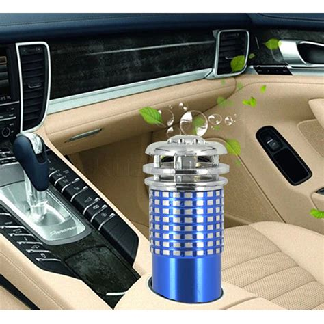 2016 new vehicle air purifier mini auto car fresh air anion ionic purifier oxygen bar ozone
