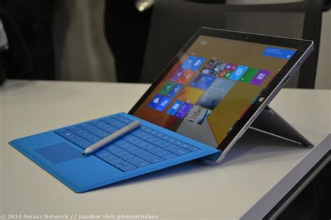 Microsoft Surface Pro 3 Di Malaysia microsoft surface pro 3 akan dilancarkan di malaysia pada minggu hadapan amanz