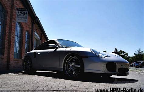 Porsche 996 Leistungssteigerung by Chiptuning Berlin Porsche 911 996 Turbo Umbau Abgasanlage
