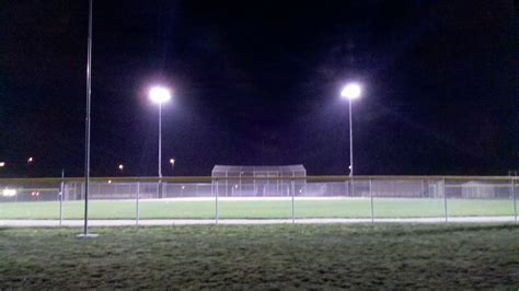 Field Lights by Perry Schools Softball And Baseball Field Lighting Project