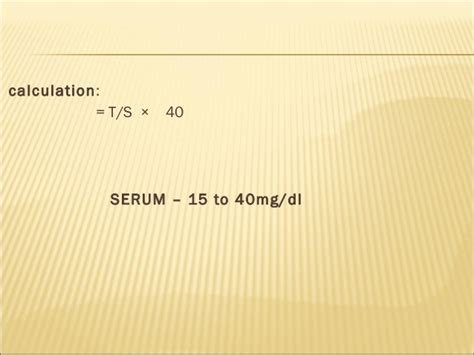 creatinine 40 mg dl urea creatinine