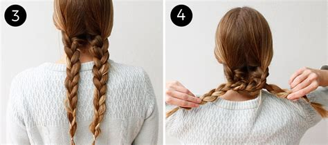 Braided Hairstyles Easy Steps by An Easy Braided Hairstyle For Any Occasion More