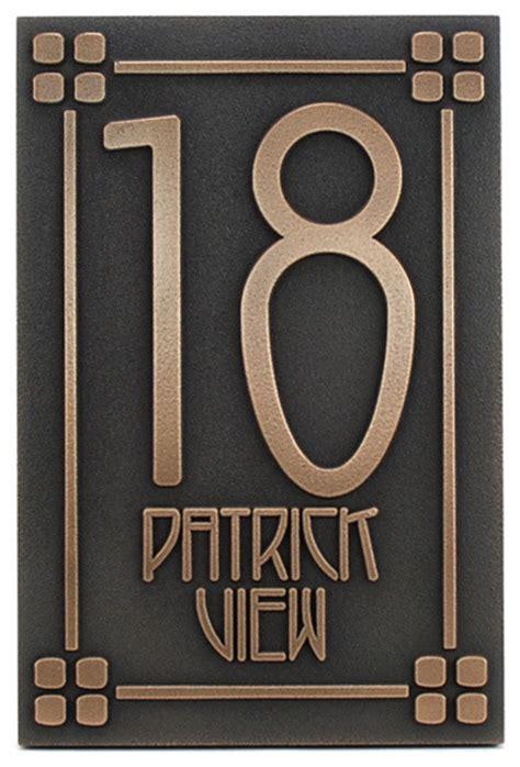 craftsman house numbers craftsman house numbers 28 images craftsman bungalow ginkgo house numbers arts by