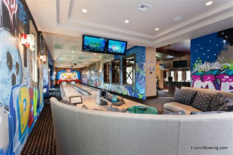 Decorating Homes Games Home Bowling Alley Of New York Yankees Player Eclectic