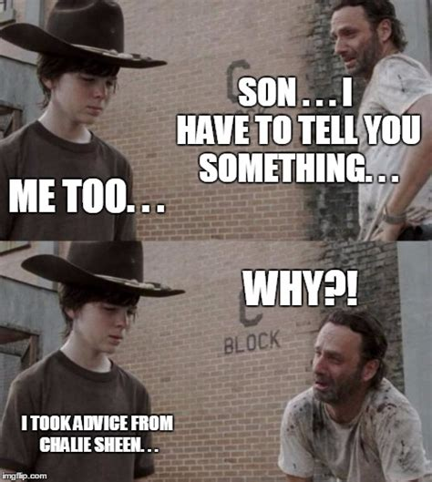 Rick And Carl Meme - rick and carl meme imgflip