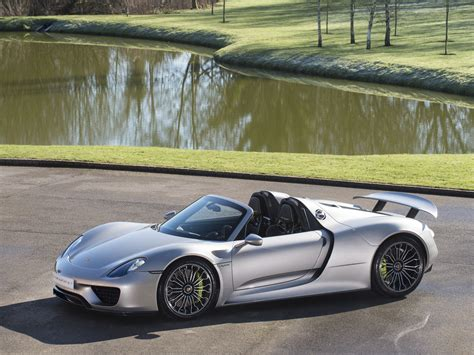porsche 918 spyder black stock tom jnr