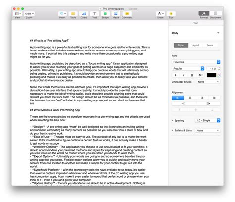 paper writing app the best writing app for mac and iphone the sweet