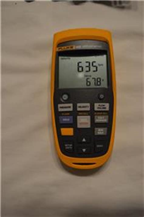 Fluke 922 Kit Airflow Meter Kit Micromanometer Micro Manometer new fluke 922 kit airflow meter micromanometer ebay