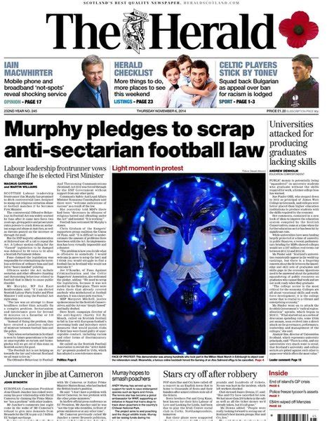 Sectarianism In Scottish Football Essay by News What The Scottish Papers Say