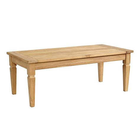ballard designs coffee table classic teak coffee table ballard designs