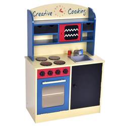 wood kitchen cooking pretend play set toddler