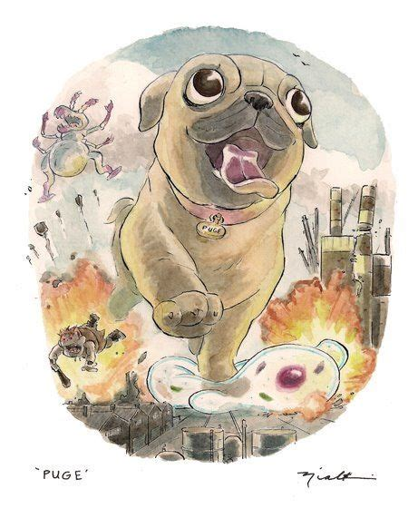 pug illustration best 25 pug illustration ideas on pug pug and pug wallpaper