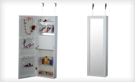 over the door beauty armoire with full length mirror 139 for an over the door beauty armoire with full length