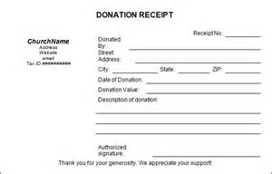 Donation Report Template by Church Donation Templates Paper Donation Receipt Templates