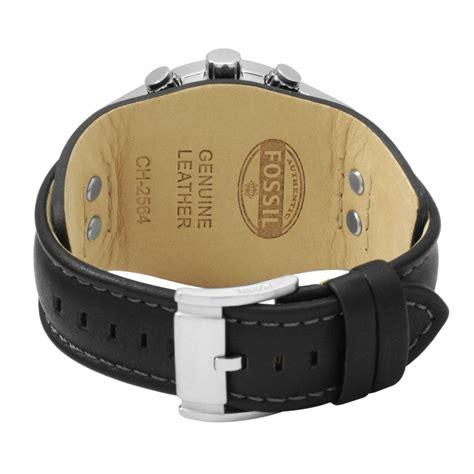 Fossil Chronograph Ch2564 hommes fossil coachman chronographe bracelet rigide montre
