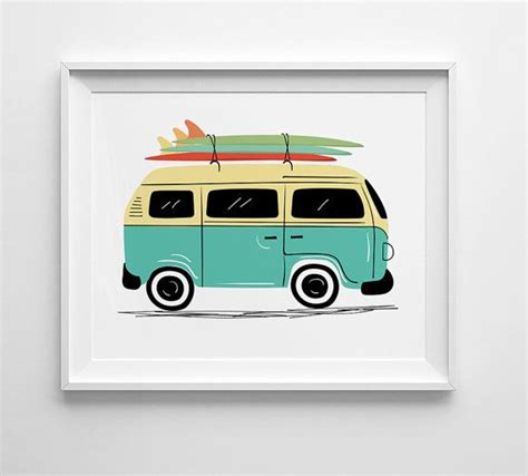 volkswagen with surfboard clipart 119 best paper images on surf trip
